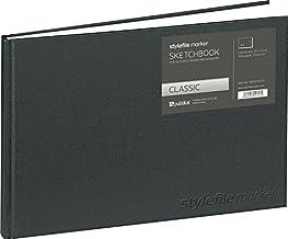 Stylefile BB10T0031 Marker Classic skissbok DIN, silver, A4 liggande format