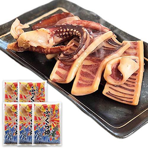 イカ屋荘三郎 イカ焼き いかのふっくら焼 130g×5個セット 国産 お取り寄せ ギフト グルメ ヤマキ食品 #元気いただきますプロジェクト
