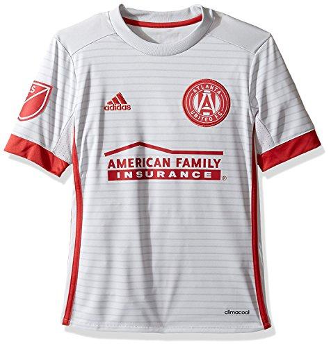 adidas Atlanta United FC Youth Replica Jersey Grey (Youth XLarge 18/20)