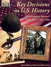 مفتاح Decisions في الولايات المتحدة. التاريخ: A participatory ْ–درجات الصوت 2(7–9)