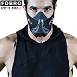 Hypoxic Breathing Resistance Mask for Running Fitness Training, Cardio Mask for Professionals