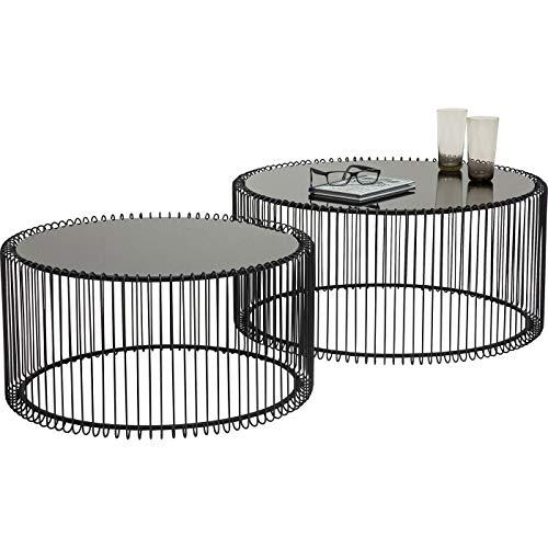 Kare Design Couchtisch Wire Messing 2Set