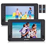 PUMPKIN Double Lecteur DVD Portable Voiture Pour Enfants 2 ecrans d'appuie-tête 10,1 Pouce...