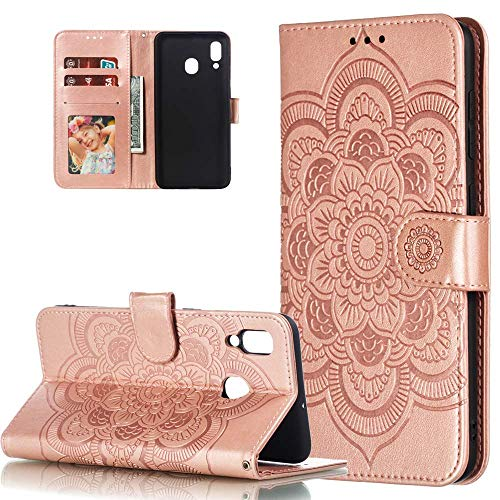 HMTECH Galaxy M30S Case Samsung Galaxy M30S Case Cover 3D Cute Cat Flower PU Leather Flip Notebook Wallet Case Magnetic Stand Card Holder Slot Folio Bumper Case for Samsung Galaxy M30S,YX Cat Tree