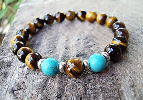 Tiger eye bracelets,turquoise bracelets,stone bracelets,fashion bracelets,bracelets for men and women