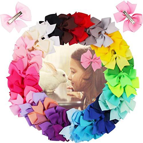 Artículos de decoración para el hogar, Accesorio 40PC Arco Clips de pelo Niñas Niño Accesorios para el Cabello Niños Accesorios para el Cabello Clip de Ramadán Multicolor