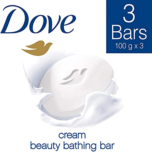 Dove Cream Beauty Bathing Bar, 100g (Pack of 3) product image
