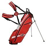 Wilson Staff Quiver Stand Bag, WGB4321RD Sacca da Golf con 3 Scomparti, Rosso