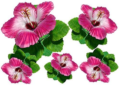 Autocollants pour voiture, Floral Design: Flower Set 15 Mini 22 Pieces