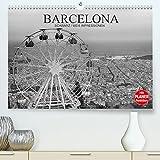 Barcelona Schwarz / Weiß Impressionen (Premium, hochwertiger DIN A2 Wandkalender 2022, Kunstdruck in Hochglanz): Fantastische Impressionen in schwarz ... Barcelona (Geburtstagskalender, 14 Seiten )