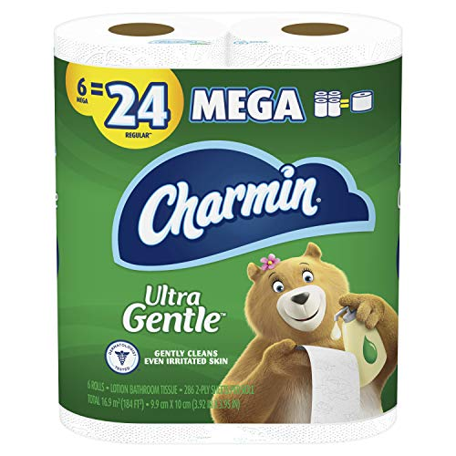 Image of Charmin Ultra Gentle Toilet...: Bestviewsreviews