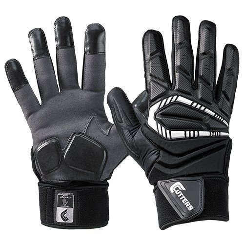 Cutters Lineman Padded Football Glove. Force 3.0...