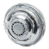 Intex 28692 Luce a LED con Funzione Idroelettrica per Piscine con Attacco da 38 mm, Grigio