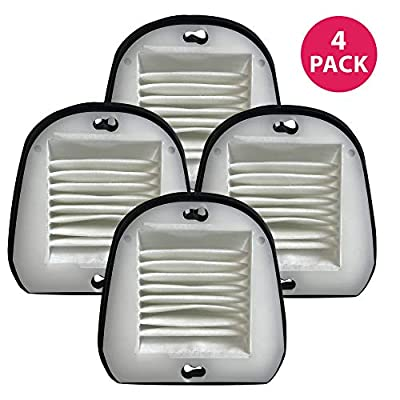Crucial Vacuum Air Filter Replacement - Compatible with Black & Decker Part # 48G7, 2031473 203-1473 and Black & Decker VF20 Filter Fits Dustbuster - Washable, Reusable, Lightweight Filters