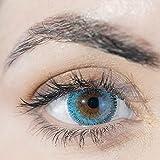 ADORE lentillas DIARIAS de color azul claro - 2 lentillas por caja - efecto luminoso y natural - muy cómodas