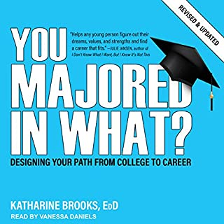 You Majored in What? audiobook cover art
