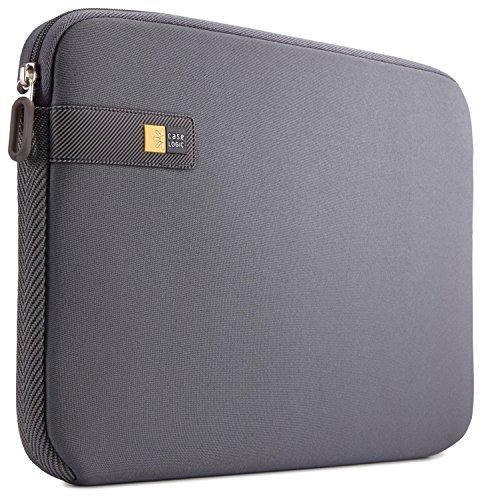 Case Logic LAPS Notebook Hülle für 17,3 Zoll Laptops (ultraschmales Sleeve, ImpactFoam Schaumpolsterung für Rundumschutz, Laptop Tasche ideal für Chromebook oder Ultrabook), Graphit