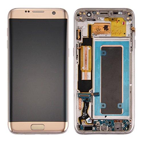 Reserveonderdelen LCD-scherm + Touch Screen Digitizer Vergadering & Frame & ChargingPort Board & VolumeButton & powerbutton Compatibel met de Samsung Galaxy S7 Edge / G935A Voor mobiele telefoons
