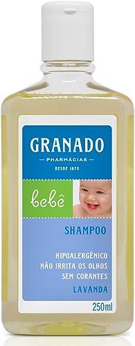 Linha Bebe Granado - Shampoo Bebe Lavanda 250 Ml - (Granado Baby Collection - Lavender Baby Shampoo 8.45 Fl Oz)