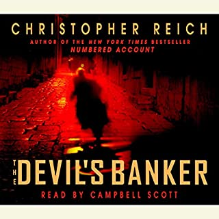 The Devil's Banker audiobook cover art