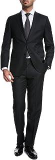 Keskin Collection Men's Suit Black Slim Fit Modern Fit Red Label