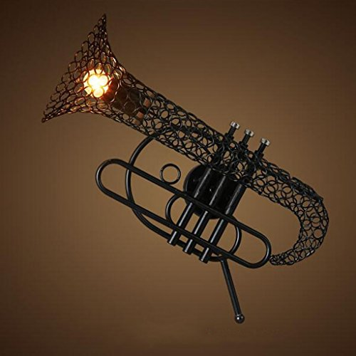 Saxophone Iron Wall Lamp