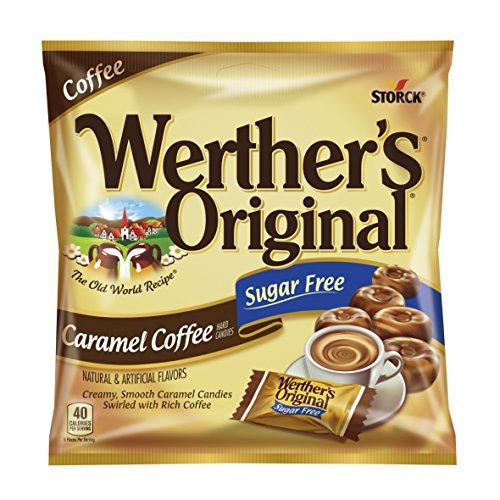 WERTHER'S ORIGINAL Sugar Free Caramel Coffee...