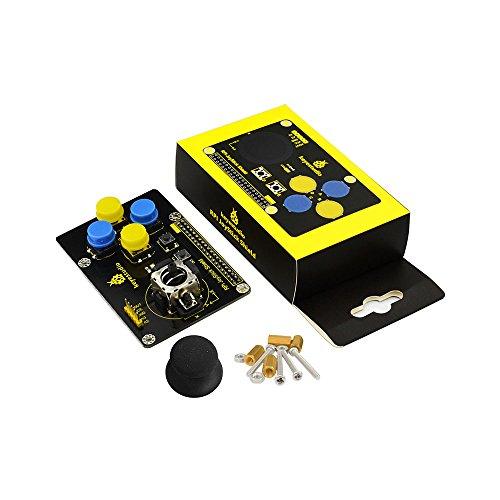 KEYESTUDIO Joystick Keypad Shield DIY Game Rocker Expansion Board for Raspberry Pi 4/3