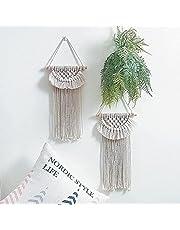 WANBAO Beautiful Pendant Tapa de Encaje Tapicería Hand Woven Bohemian Crafts Home Fondo Decoración Loikktg (Color A) (Color : A)