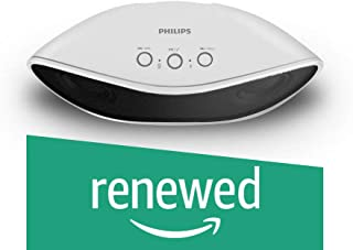(Renewed) Philips IN-BT4200W/94 Portable Wireless Bluetooth Speakers (White)