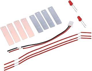 Garosa Batería de Frutas Energía eléctrica Educativa Física Laboratorio de Ciencias Circuito básico Aprendizaje Kit de Inicio DIY Energía de batería de Frutas casera