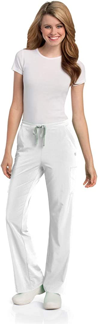Urbane Elastic Waist Medical White Free shipping anywhere in the Free shipping / New nation Pants Scrub L