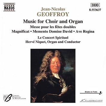 GEOFFROY: Music for Choir and Organ