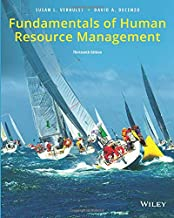 Fundamentals of Human Resource Management 13e
