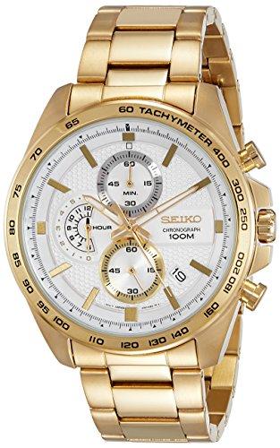 Seiko Orologio Cronografo Quarzo Uomo con Cinturino in Acciaio Inox SSB286P1