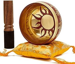 Tibetan Healing Sound Singing Bowl - Easy To Play Authentic Handmade Bowl For Meditation Sound Chakra Healing