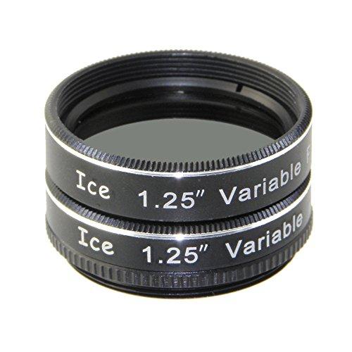 ICE 1.25' Variable Polarizing Eyepiece Moon Filter for Telescope Polarizer