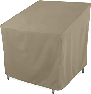 SunPatio Outdoor Club Chair Cover, Water Resistant, Lightweight, Helpful Air Vents, All Weather Protection, 33.5