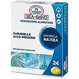 p6 nausea control seaband 24 caramelle anti nausea - 40 gr