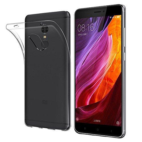 Funda Carcasa Gel Transparente para XIAOMI REDMI Note 4X, Ultra Fina 0,33mm, Silicona TPU de Alta Resistencia y Flexibilidad