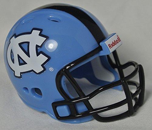 North Carolina Tar Heels Riddell Revolution Pocket PRO Mini Football Helmet UNC