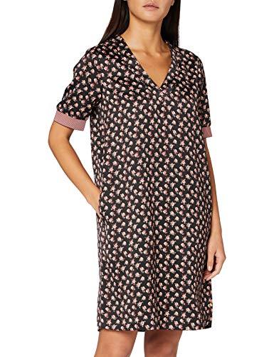Scotch & Soda Maison Womens V-Neck with Ribs Casual Dress, Combo E 0221, XL