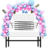 Chamvis Table Balloon Arch Kit Adjustable Balloon Arch Stand for Baby Shower,Wedding, Festival, Graduation,Birthday Decorations and DIY Event Party Supplies