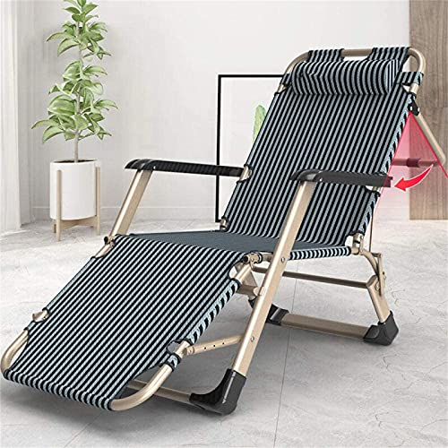 CHLDDHC Garden Recliner Sun Lounger, gepolsterter Zero Gravity Recliner Chair, klappbarer Terrassenstuhl im Freien, multifunktionaler Garden Recliner Bed Chair