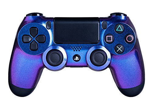 Crazy Controllerz Wireless Controller for Playstation 4 - Color Changing Chameleon PS4 - Custom Design for a Unique Look - Multiple Colors Available