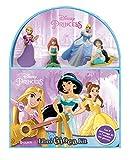 Disney princess. Libro gioca kit. Con 4 personaggi 3D e 1 scenario per giocare!