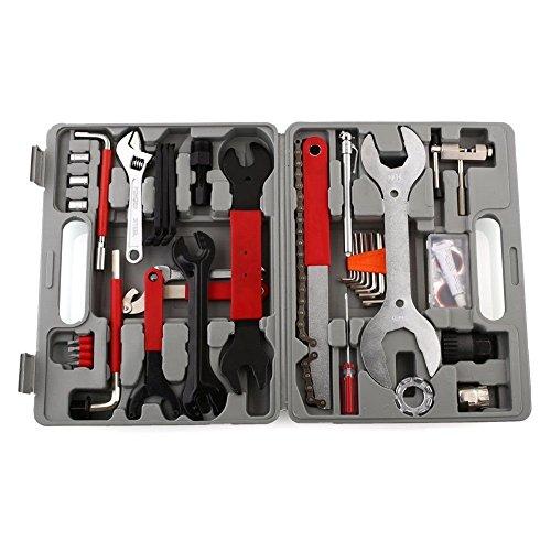 Femor Fahrrad Werkzeugkoffer 48tlg Fahrrad Werkzeug Set, Fahrradwerkzeug für Fahrrad Montagearbeiten und Reparaturen, Fahrrad Werkzeugset mit Tragekoffer und Multitool - 3
