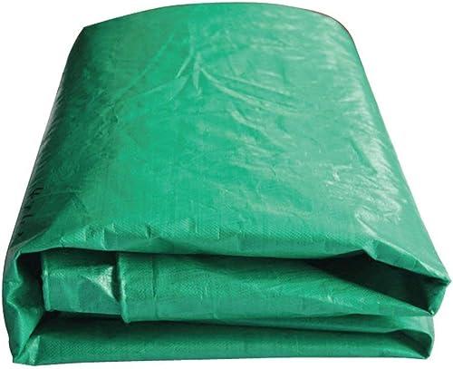 Bache de prougeection pratique Bache imperméable verte de tissu antipluie, voituregaison de camion prougeection solaire imperméable à l'eau versé tissu isolation par la poussière absorption de chaleur anti-co