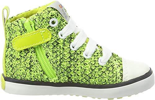 Geox Baby Jungen B Kilwi Boy I Sneaker, Grün (Lime Green), 27 EU