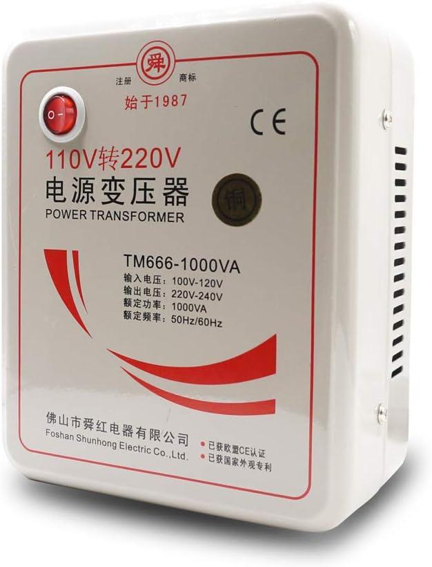 Beduan 110V to 220V Step outlet Transformer Up Converter Voltage Outstanding Power